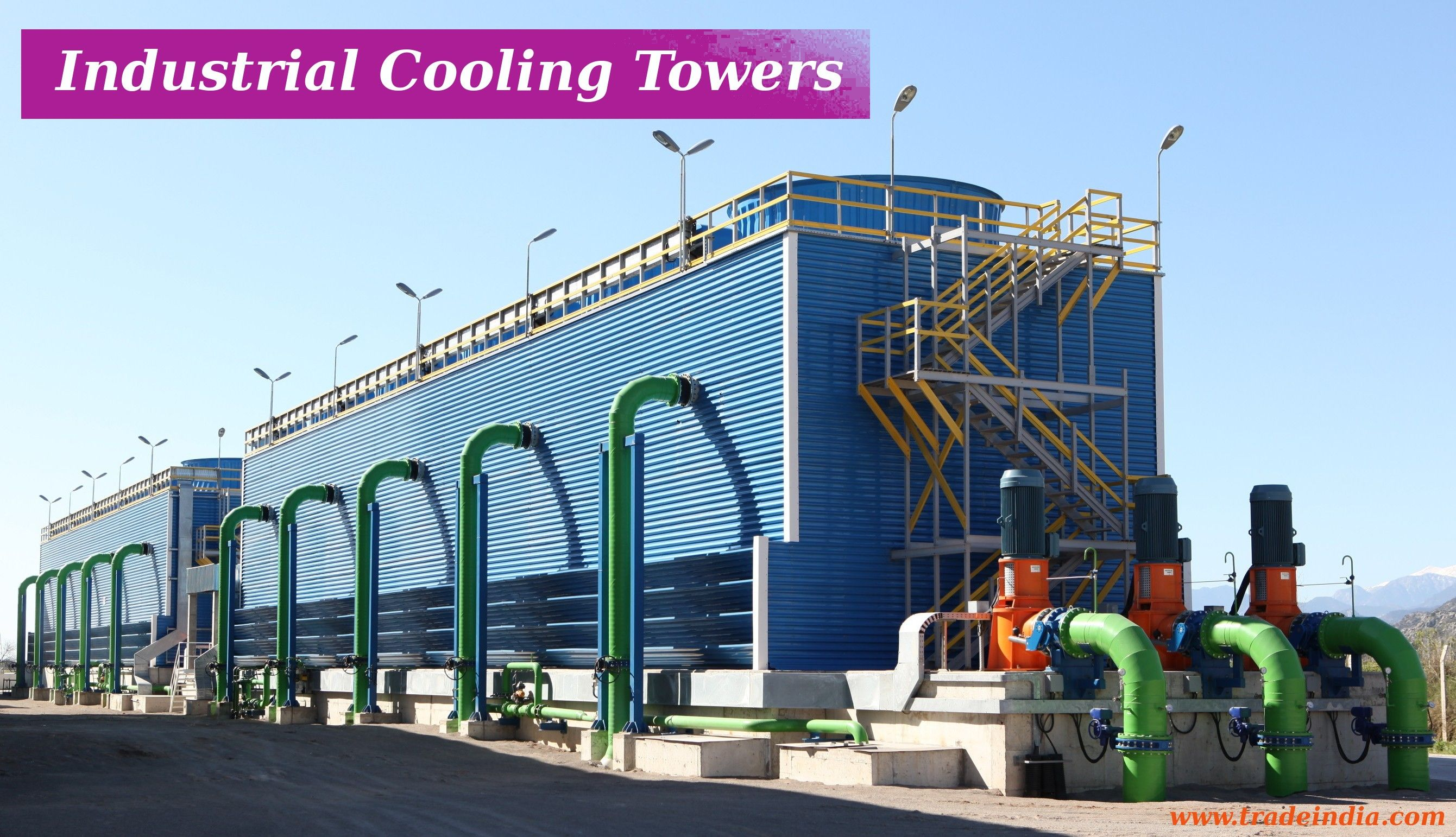 Visit Here Industrial Cooling Towers Which Are Used To Remove Heat