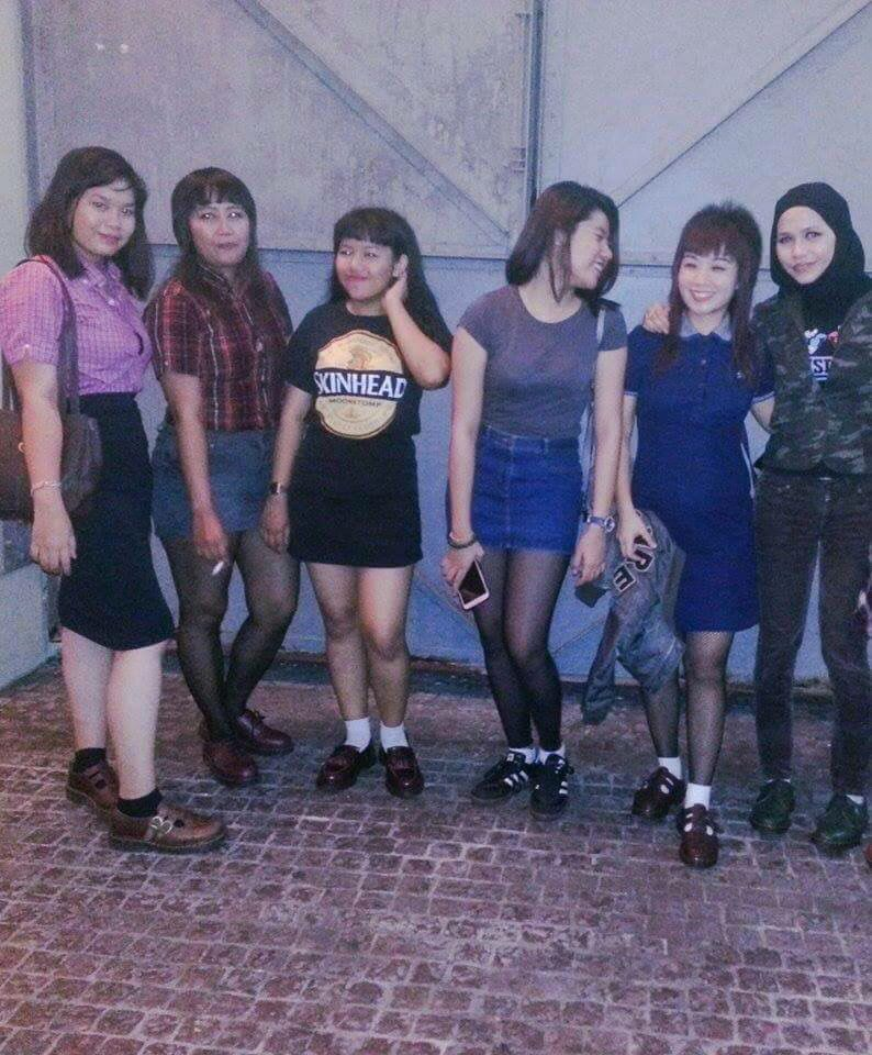 Skinhead girl malaysia