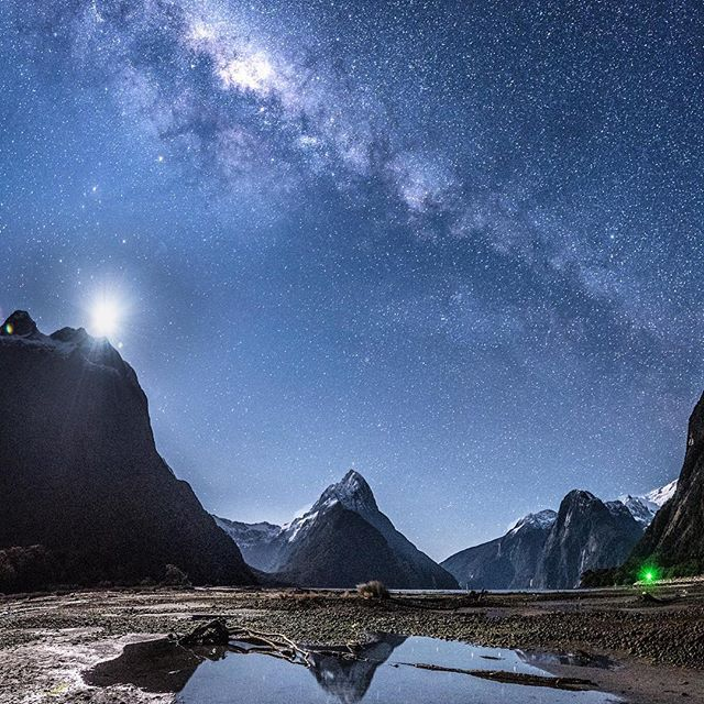 I'm told there are more stars in the sky than grains of sand on the beach! Clear skies in Piopiotahi Milford Sound Road tripping with @drivenewzealand  F4 25sec ISO2000  I've tagged 3 people whose photos inspire me. Check them out - - #newzealandvacations #ig_refined #newzealandguide #newzealand #ig_newzealand #epicworldpix #getoutside #ig_shotz_september #earth_magic #igglobalclub #igscglobal #createcommune #natphotographers #gottolove_this #nightphotography #nature_wizards_vip…