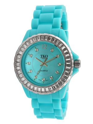 TKO Orlogi Watches Women's Turquoise & Crystal Watch
