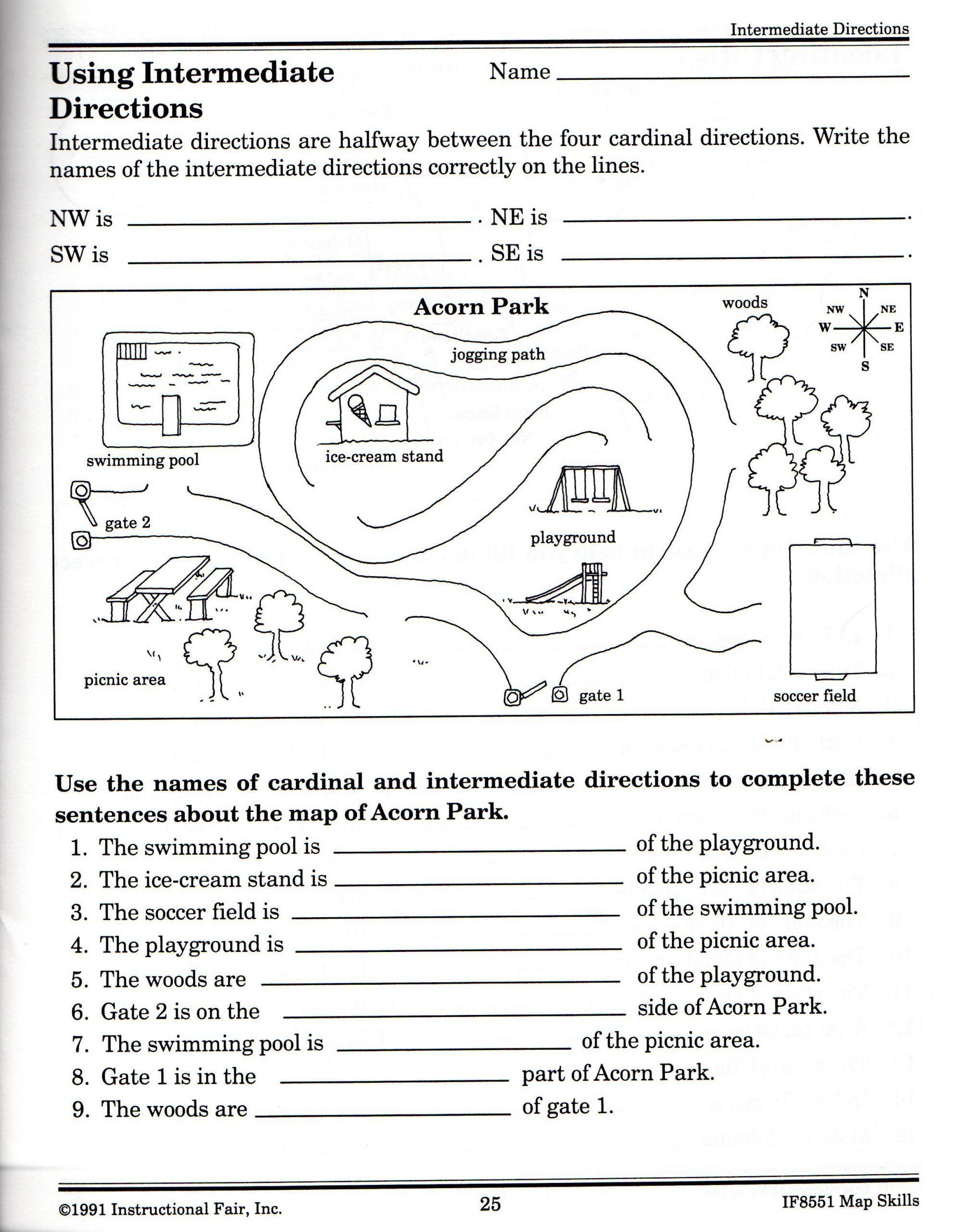 Follow Directions Worksheet Kindergarten 6 Following