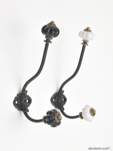 Decorative Wall Hook ceramic knob wall hook | decorative wall hooks, decorative walls