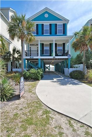 Welcome To Sanderling Small Beach Houses Myrtle Beach House Rentals Dream Beach Houses