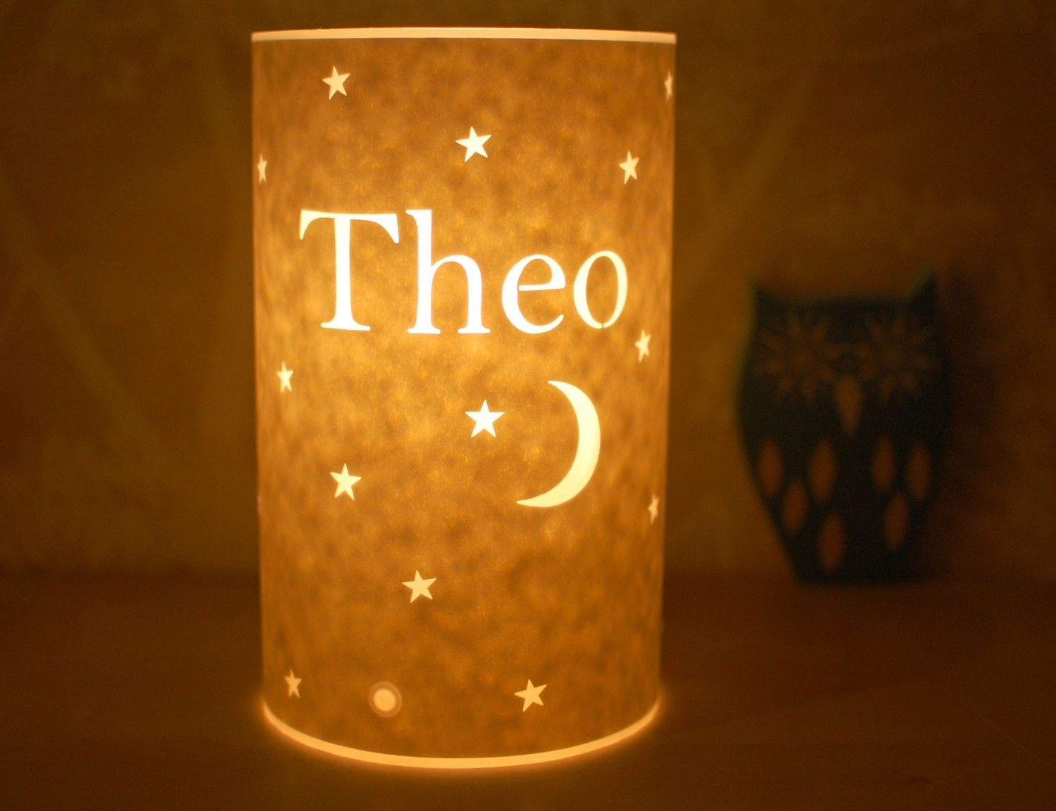 Personalised table lamp by Hannahnunn on Etsy https://www.etsy.com/listing/54763443/personalised-table-lamp