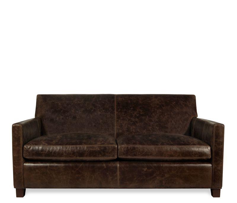 Klyne Leather Apartment Sofa - This item may be custom ...
