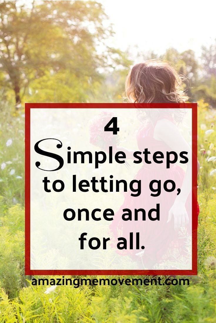 How to let the past go in relationships
