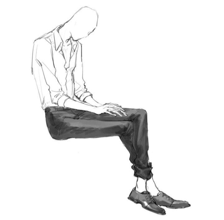 Pin By Yuki 37 On Anime Drawing In 2020 Slenderman Creepypasta Male Pose Reference