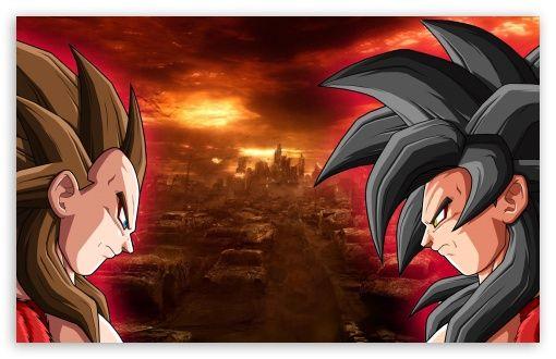 Dbz Ss4 Goku Vs Vegeta Hd Desktop Wallpaper Widescreen High Definition Fullscreen Mobile Goku Wallpaper Dragon Ball Art Dragon Ball