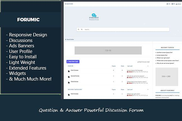 Question & Answer Discussion Forum @creativework247 | Bootstrap