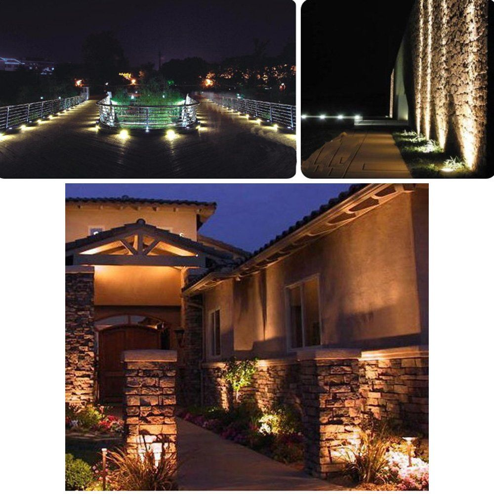 How To Design And Install Landscape Lighting Gardening From House To Home Led Landscape Lighting Outdoor Lighting Lawn Lights