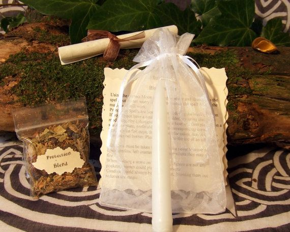 Protection Spell Handcrafted by Hedgewitch by PaganMagicalCrafts, £4.95