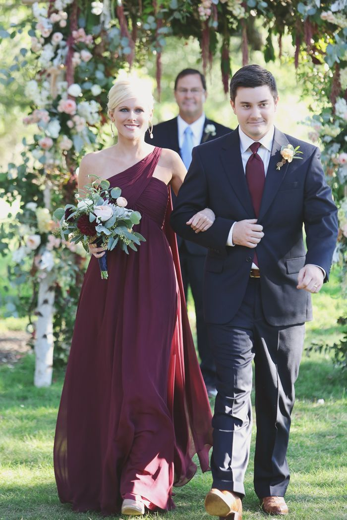 Burgundy and dark navy blue | Wedding Color Palettes | Pinterest ...