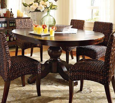 Sumner Extending Pedestal Dining Table Pedestal Dining Table Dining Table Chairs Kitchen