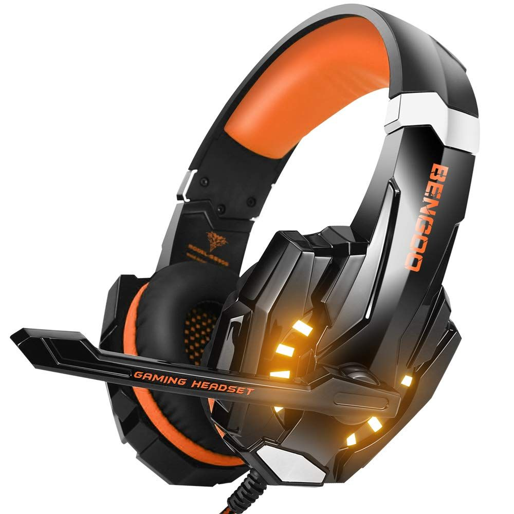 Best Xbox One Headset 2020.Amazon Com Bengoo G9000 Stereo Gaming Headset For Ps4 Pc