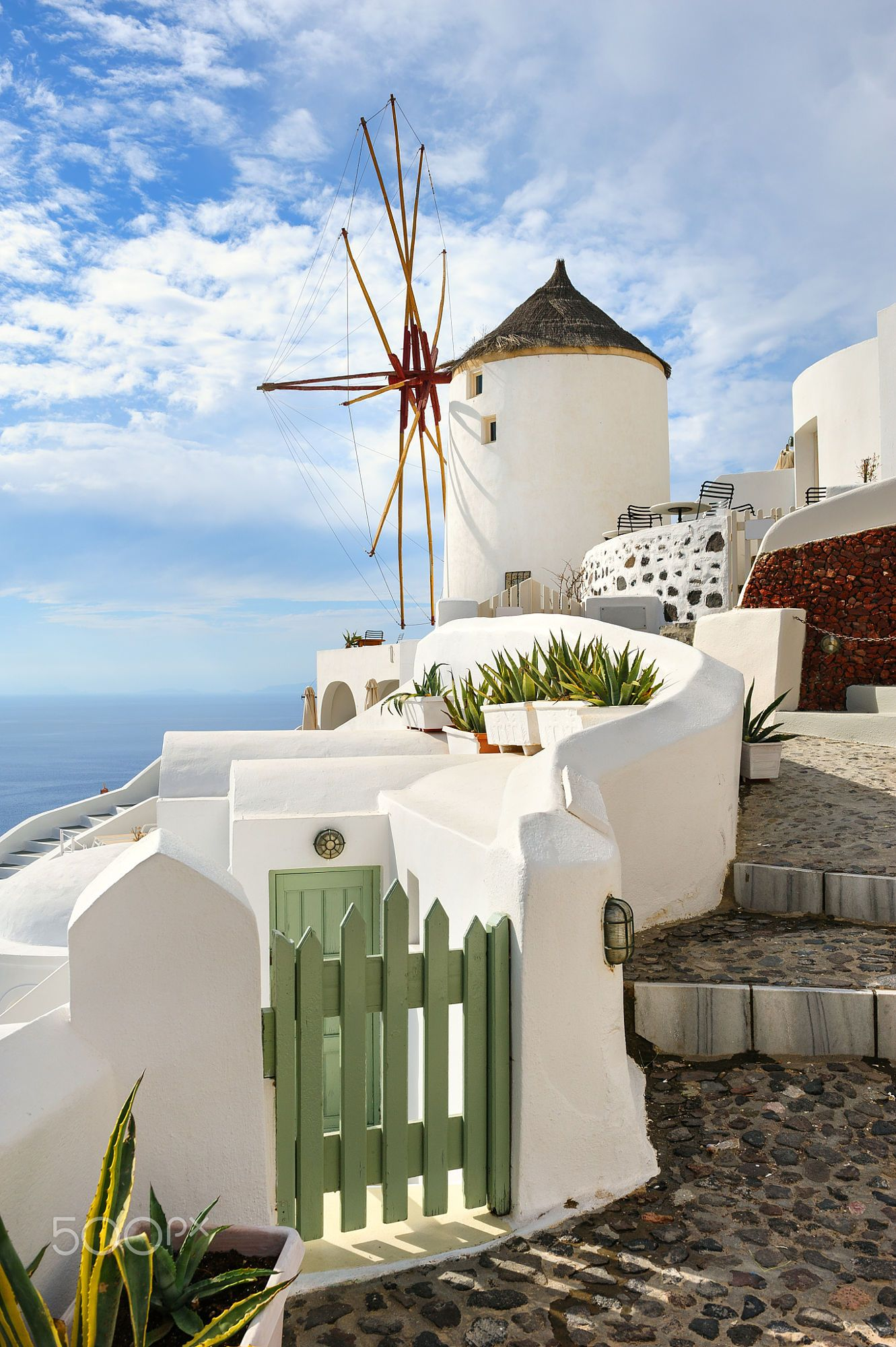 windmill in oia santorini greece santorini pinterest. Black Bedroom Furniture Sets. Home Design Ideas