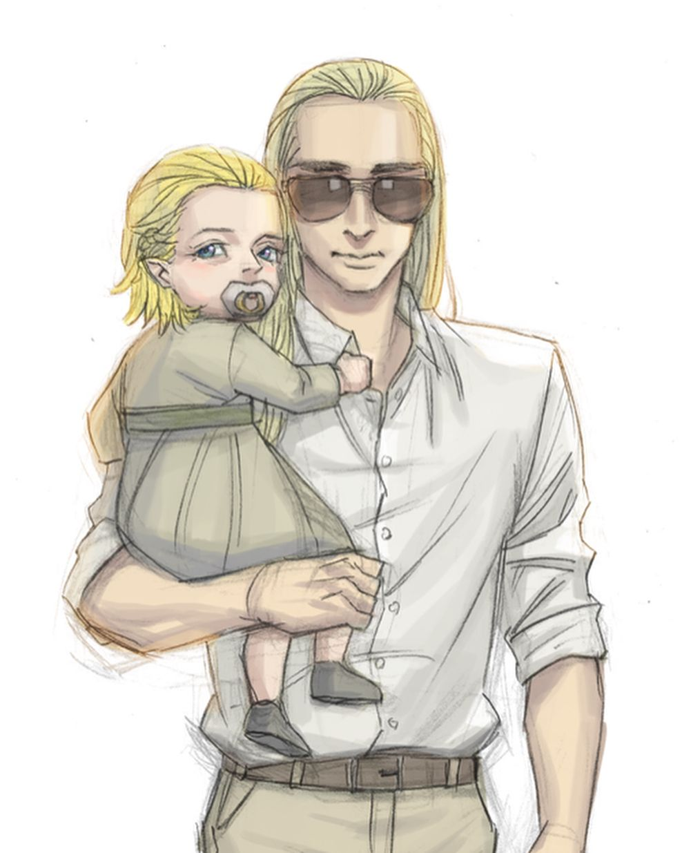 Happy Father's Day!!! ~ Thranduil and little Legolas ...