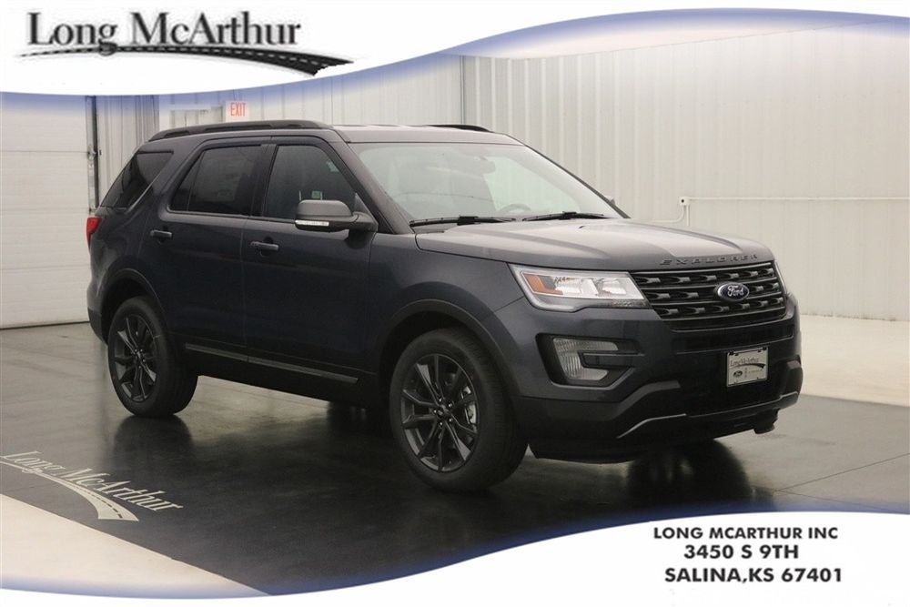 2017 Ford Explorer Xlt 4x4 Leather Sport Appearance Package 35 V6