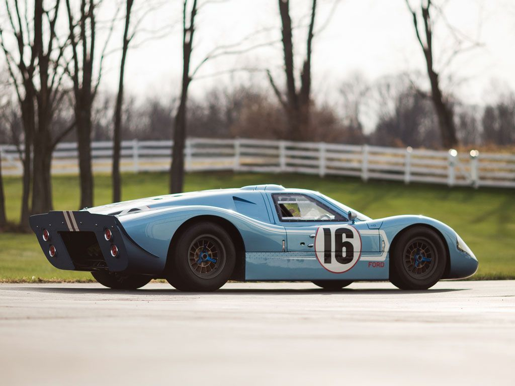 1967 FORD GT40 MKIV Tuning Motor Sports CAR POSTER Multiple Sizes A