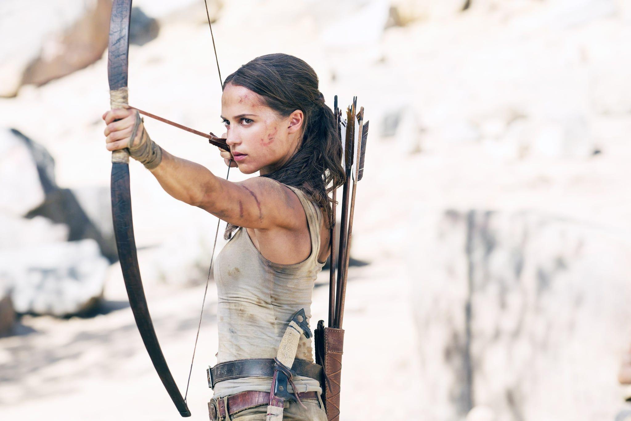 Lara Croft From Tomb Raider Tomb raider movie, Female