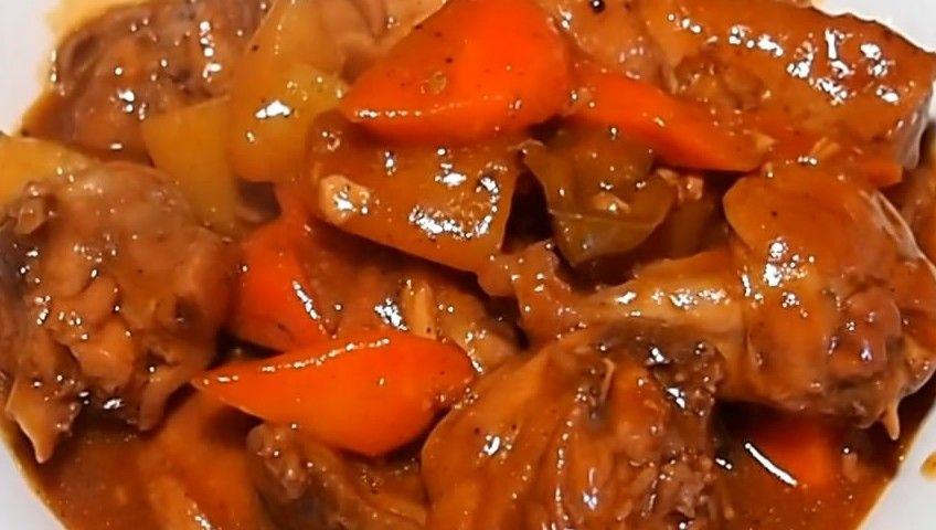 Chicken afritada is another popular filipino dish cooked in chicken afritada is another popular filipino dish cooked in tomato sauce with carrots potatoes filipino dishesfilipino forumfinder Gallery