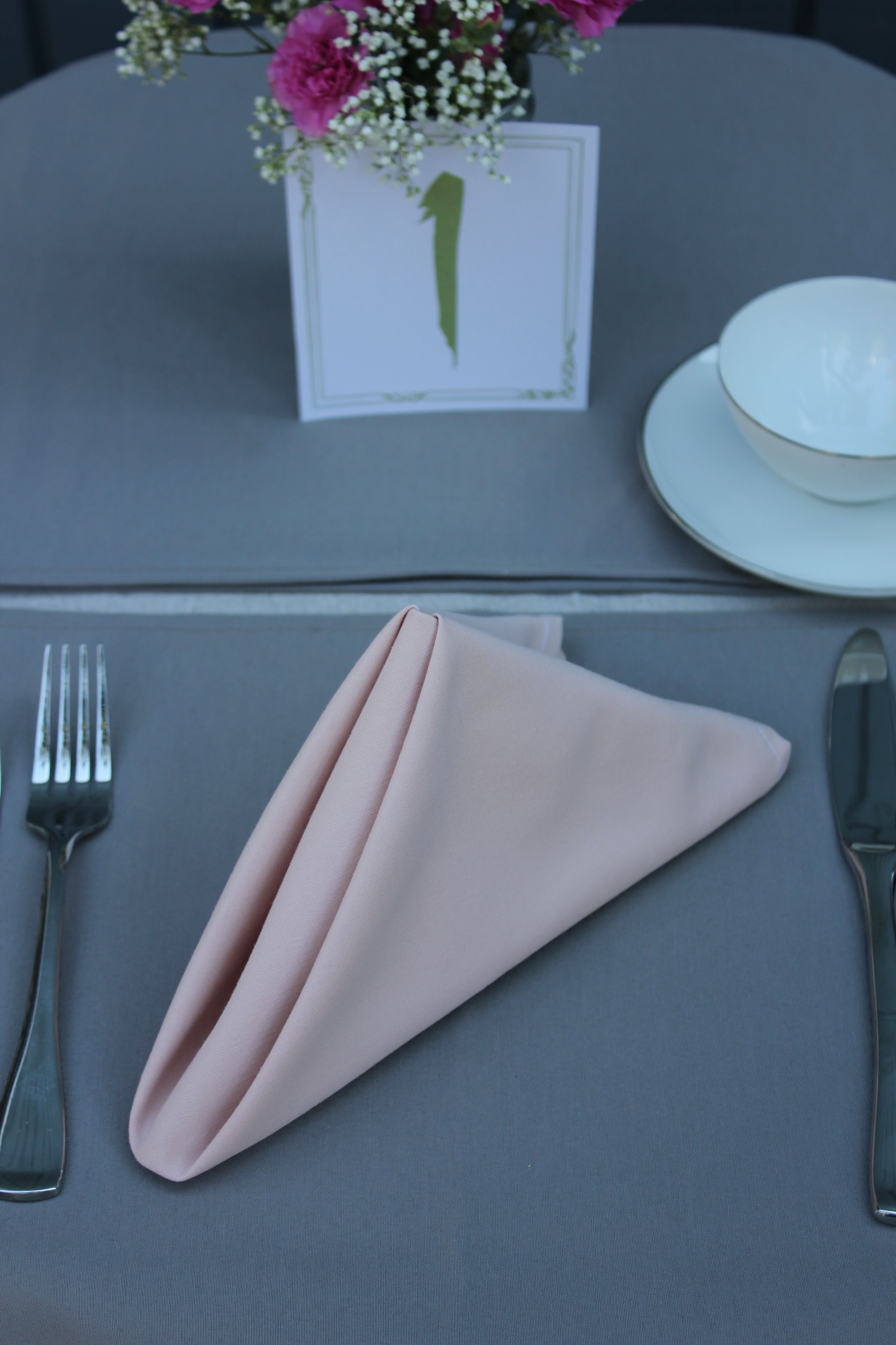 20 Inch Blush Napkins 12 Pack Organic Bedding Table Runner And Placemats Clean Bedroom