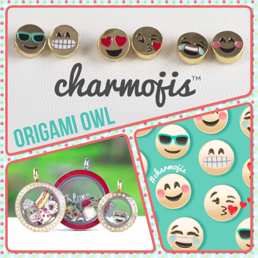 Authentic Origami Owl All Smiles Charmojis