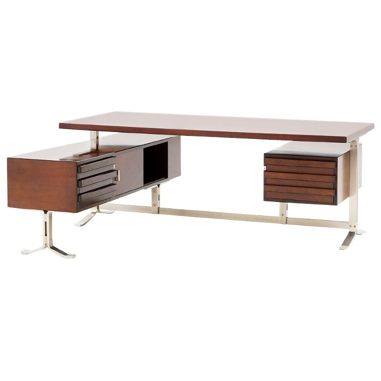 executive desk by gianni moscatelli for forma nova italy seat rh pinterest com Office Chair Office Furniture for Small Spaces