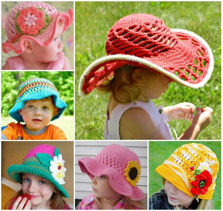 97d0e30b72a0d Child Crochet Sun Hat Pattern All The Best Ideas To Make