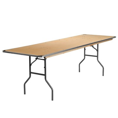Flash Furniture Rectangular Folding Table Size 30 H X 30 W X 96 D In 2020 With Images Flash Furniture Wood Folding Table Folding Table