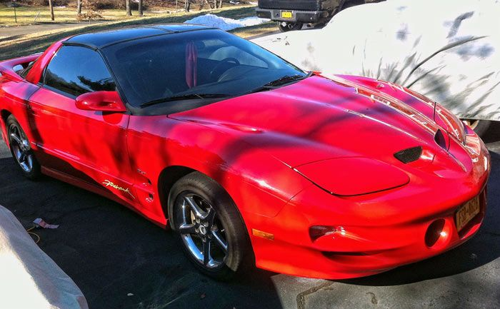 2000 Pontiac Trans Am Firehawk, 5.7L, 1 of 42 red automatics made Click to find out more - http://newmusclecars.org/2000-pontiac-trans-am-firehawk-5-7l-1-of-42-red-automatics-made/ COMMENT.