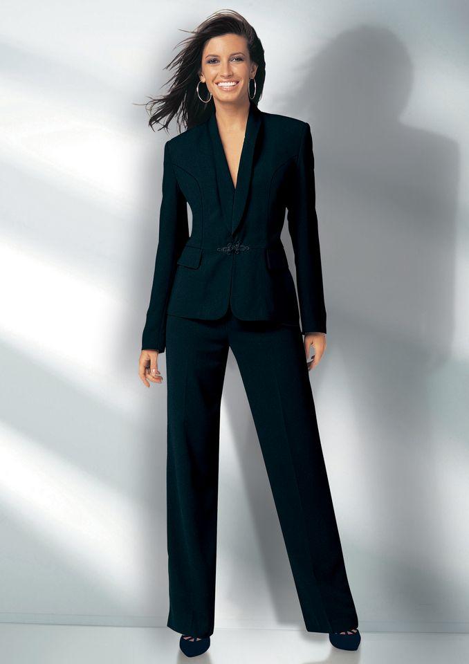 Veste noire jersey femme