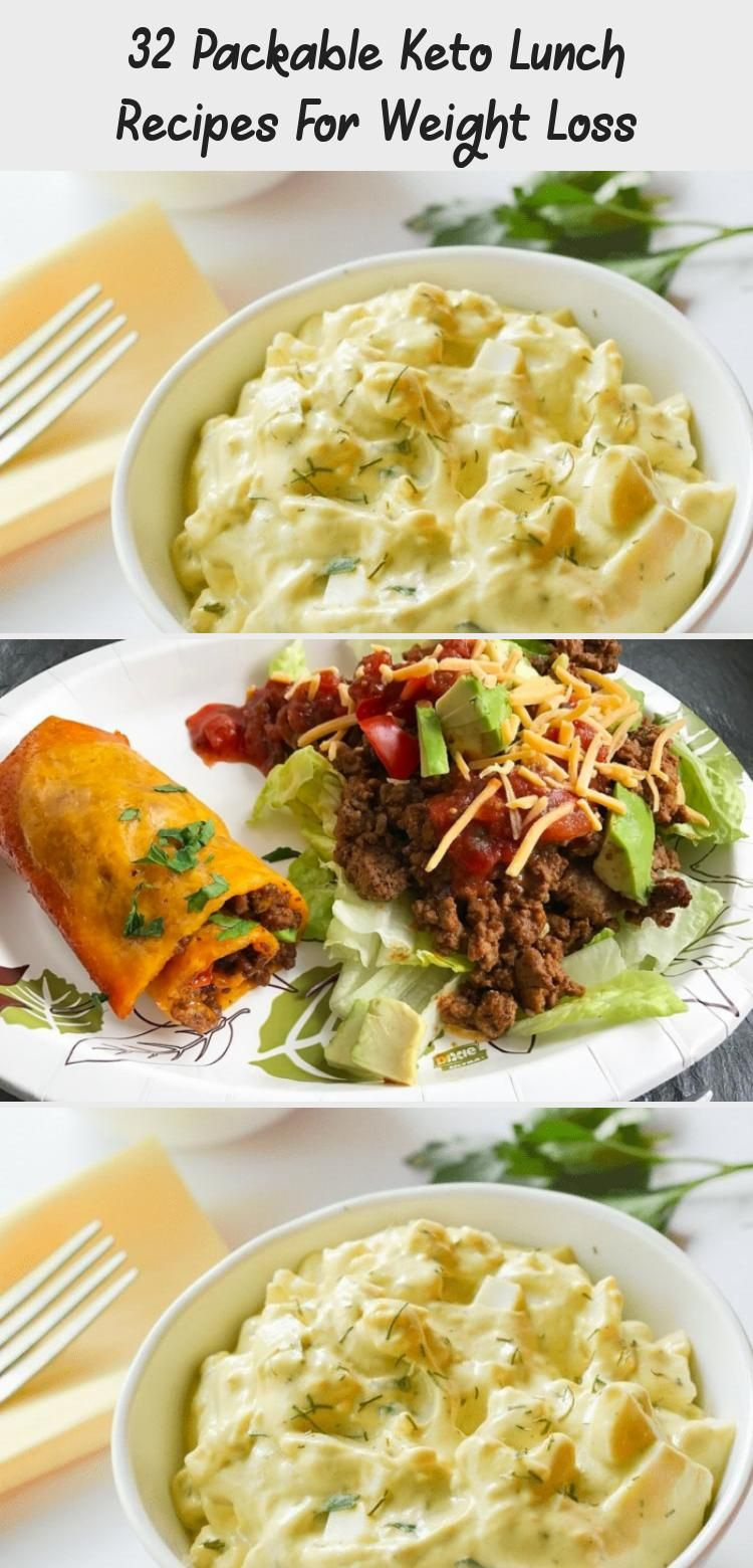 32 Packable Keto Lunch Recipes For Weight Loss