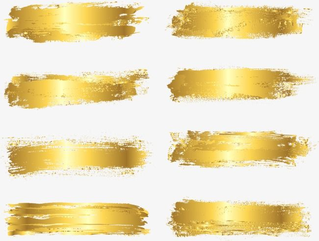 Vector Painted Gold Foil Vector Gold Brushwork Png Transparent Clipart Image And Psd File For Free Download Evil Eye Art Golden Painting Jewellery Design Sketches
