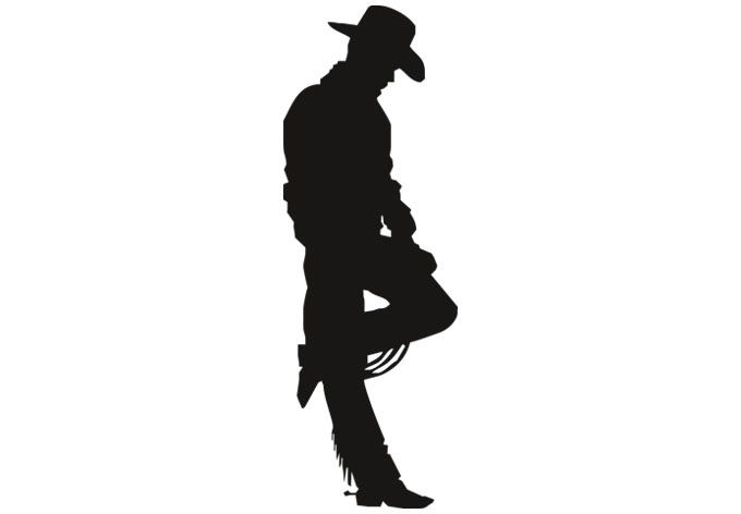 Cowboy Wall Decal For The Wild West Home Description From