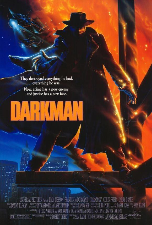 Darkman 27x40 Movie Poster (1990) in 2019 | Movie Posters