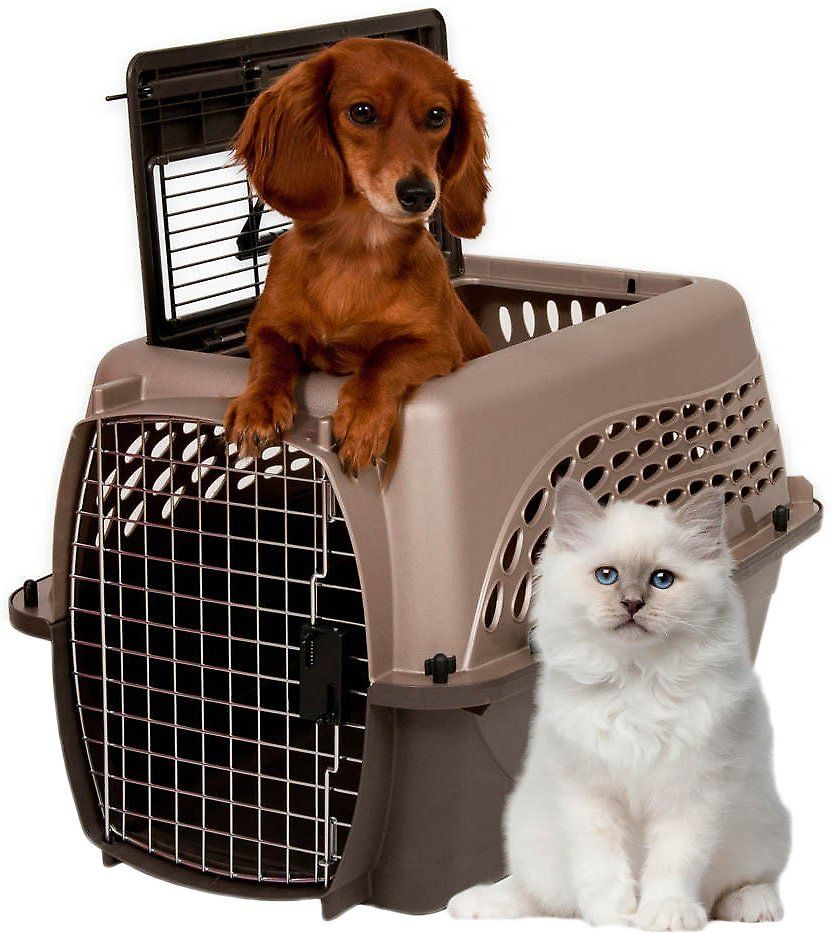 The New Petmate 2 Door Kennel Is Ideal For Travel And Housetraining