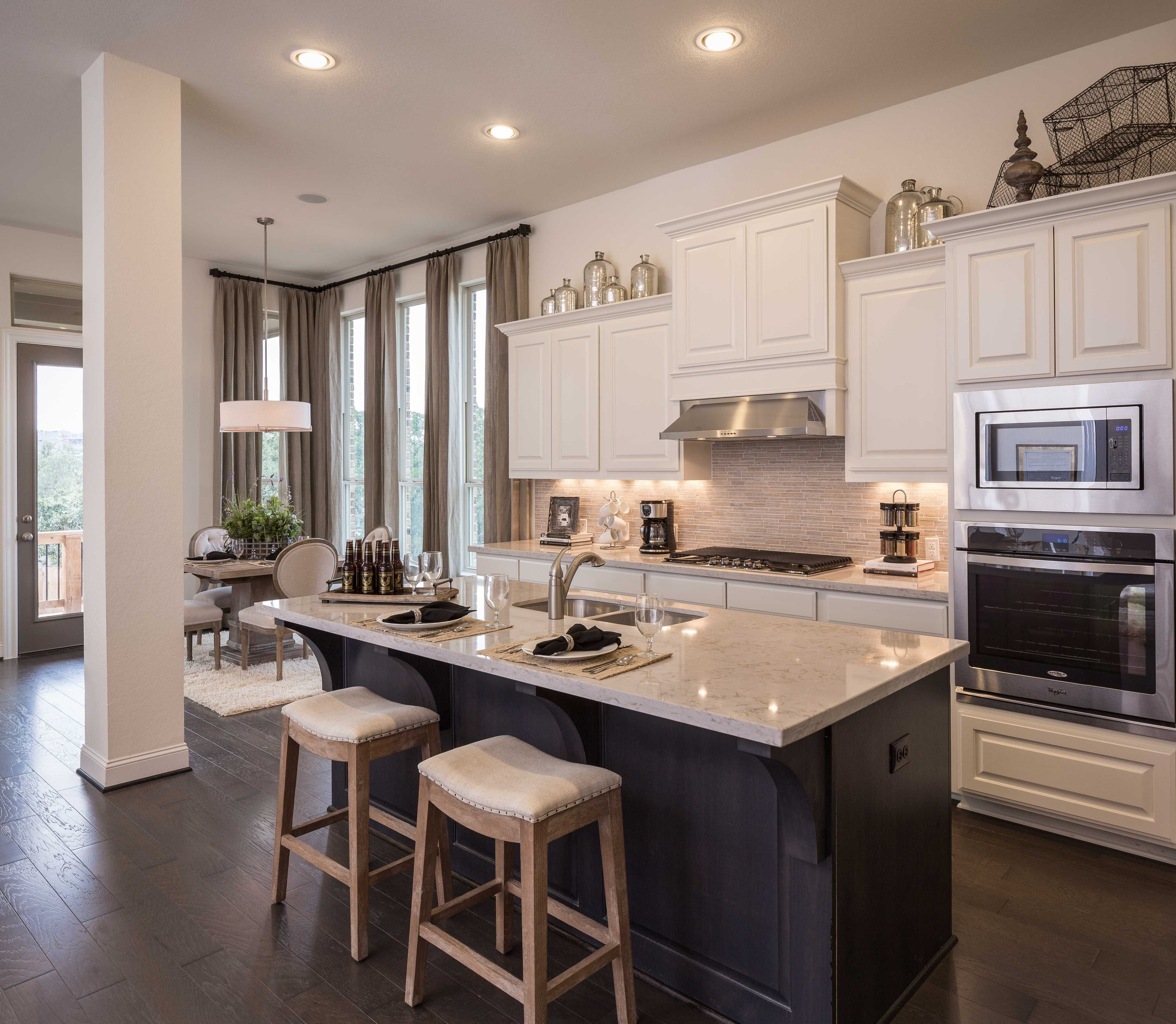 Model Home In San Antonio Texas Coronado Community Modelhomekitchens Kitchen Decor Home Kitchen Models