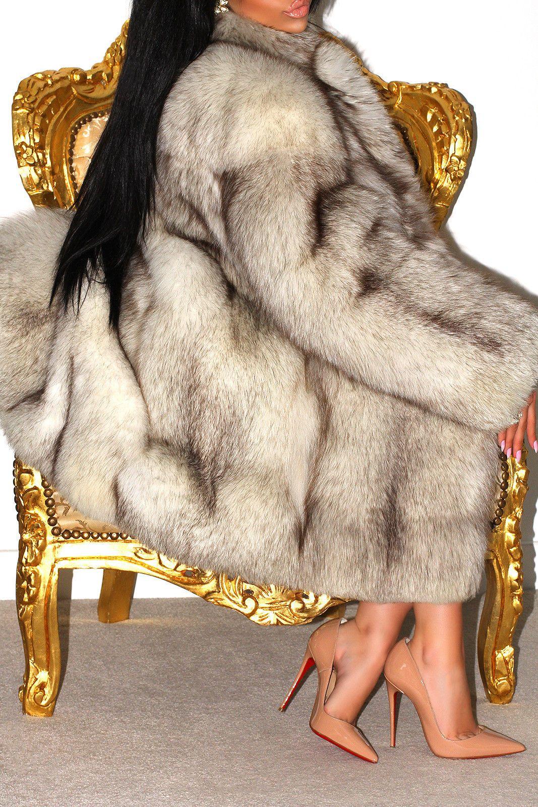 Fox Fur Shorts