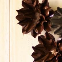 Metal Wall Flower medium rustic metal wall flowerkalalou | wall decor