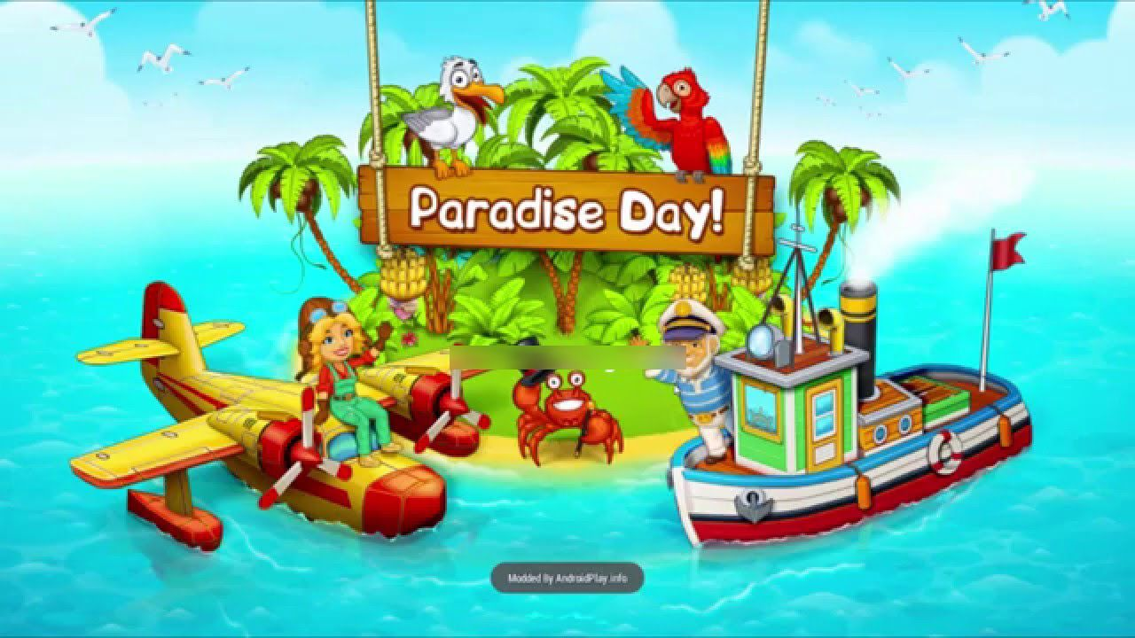 Paradise Bay Hack APK Get 9999999 Gems and Gold and Gold
