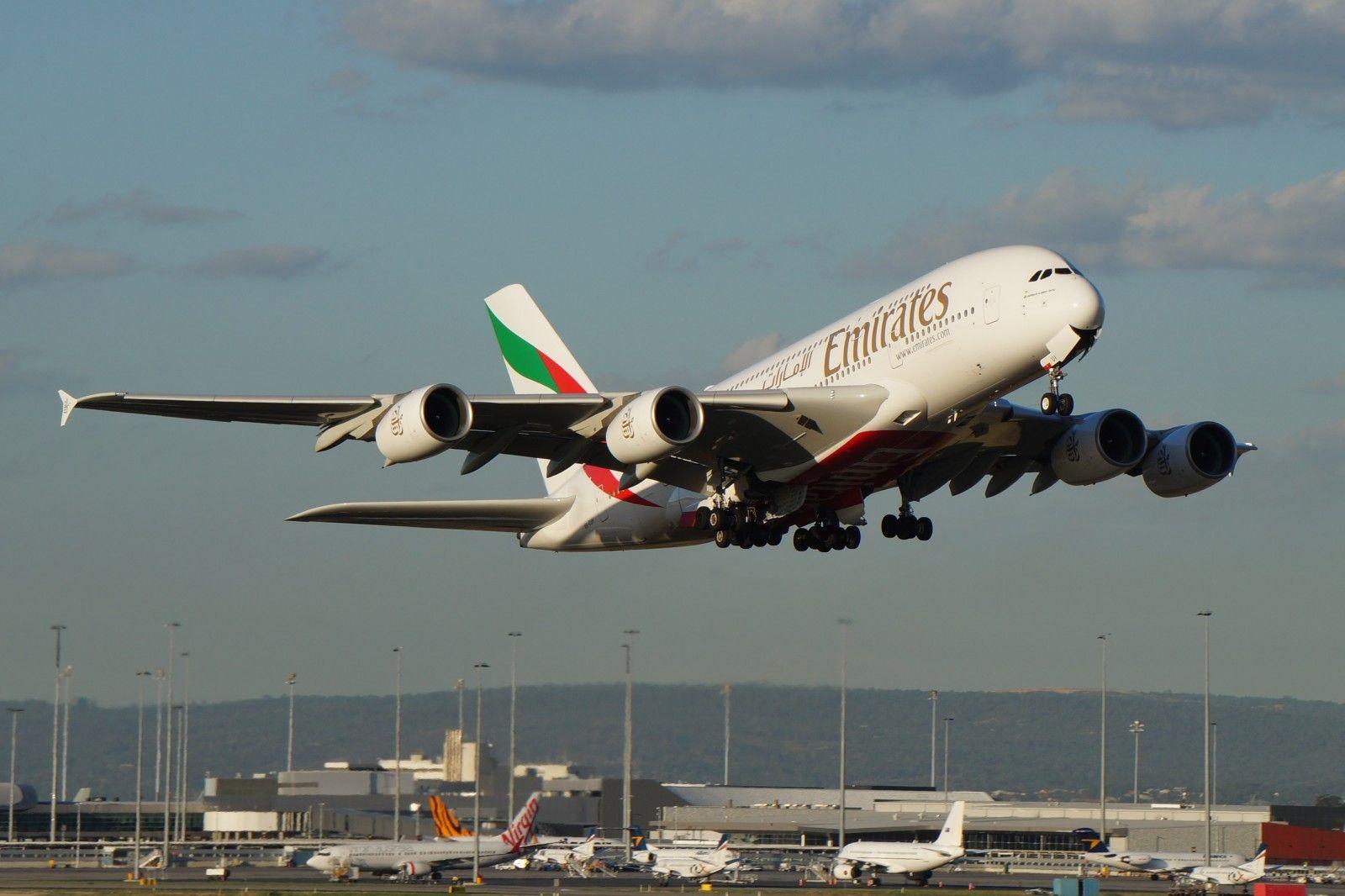 Wallpaper Vehicle Airplane Boeing 777 Dubai Australia Perth