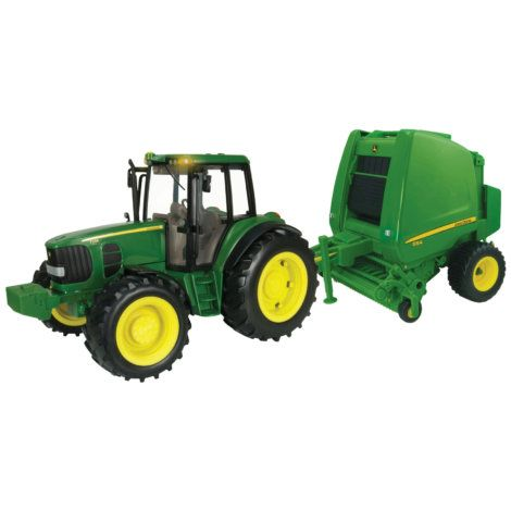 Find theBig Farm 1/16 Scale John Deere 7330 Tractor & Round