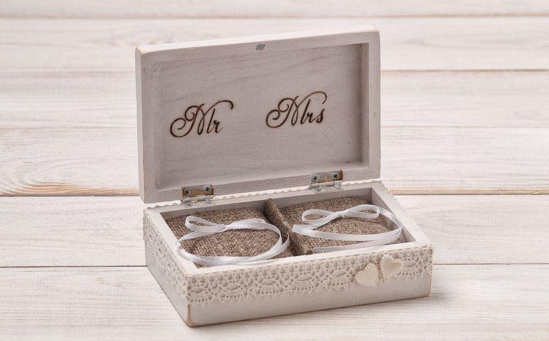 hochzeit ring box ringkissen ring box rustikal ringkissen hochzeit hochzeit ringe und. Black Bedroom Furniture Sets. Home Design Ideas