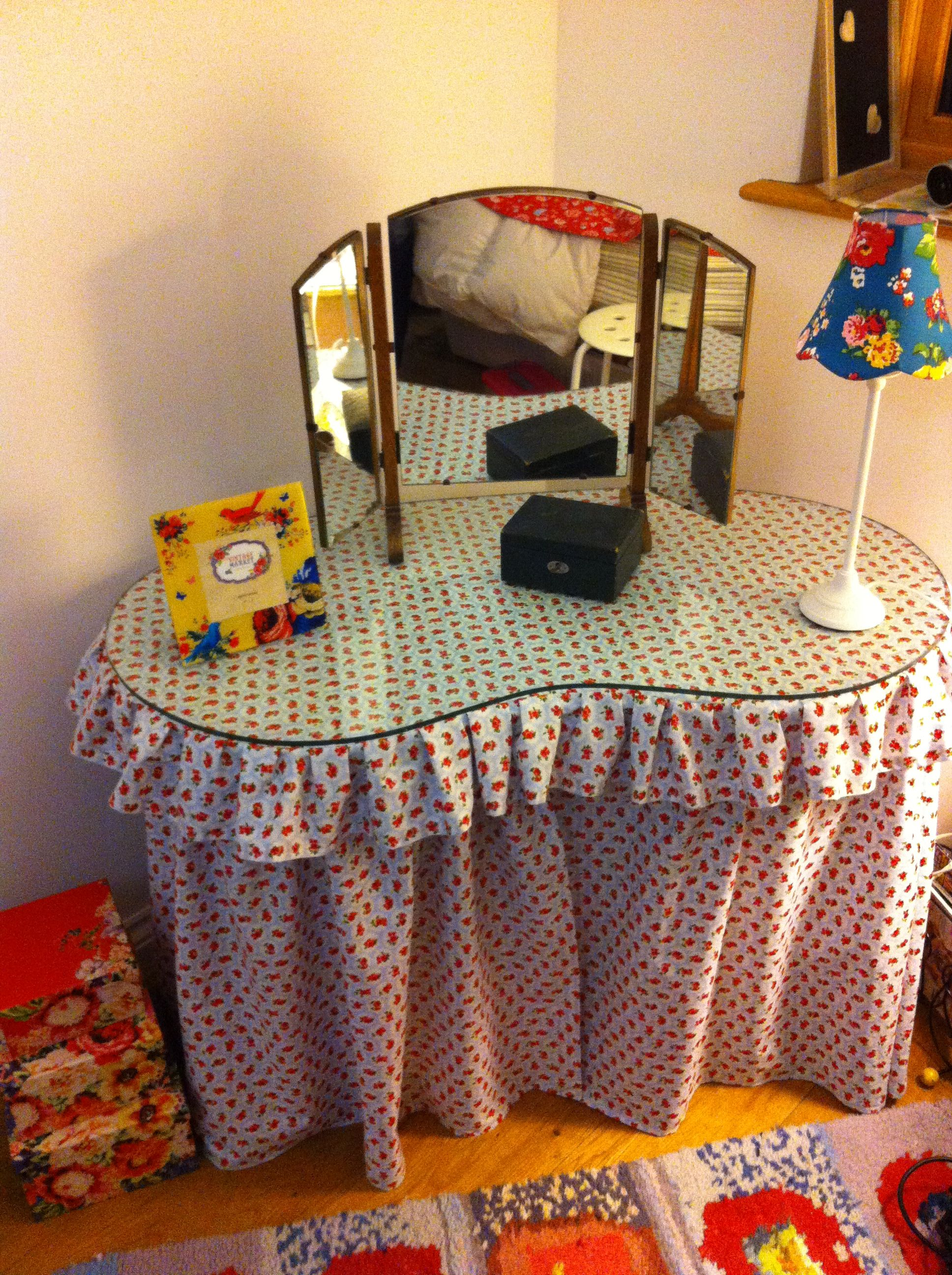 Latest Project - Revamp Of Kidney Shaped Dressing Table