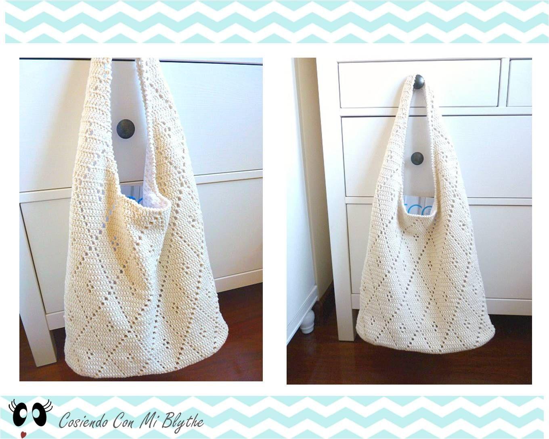 Cosiendo Con Mi Blythe: Patrón bolso de ganchillo | crochet ...
