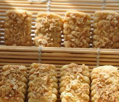 Biskut Emping Belinjau Recipe Homemade Sweets Cookie Recipes Food