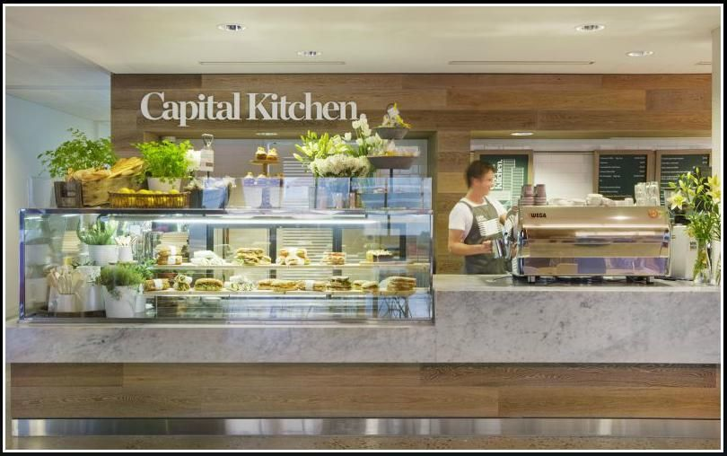 Restaurant Kitchen Counter front side - capital kitchen restaurant | food display | pinterest