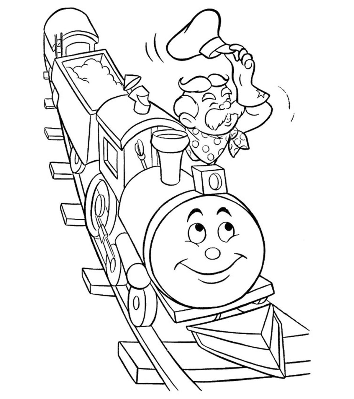 Best Train Coloring Pages For Toddlers Di 2020