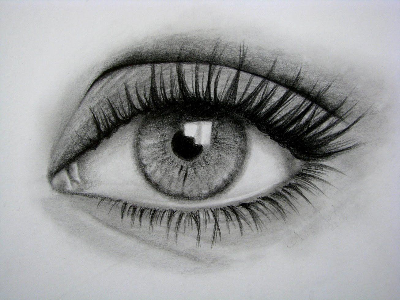 Como Dibujar Un Ojo Realista Y Pestanas Paso A Paso Ojos Dibujados A Lapiz Dibujos De Ojos Ojos A Lapiz