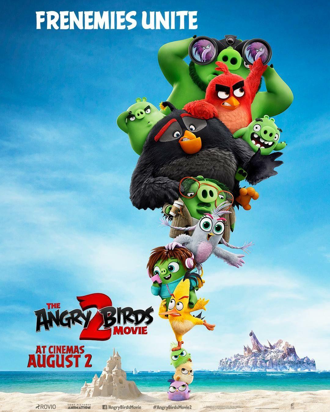 The Angry Birds Movie 2 2019 Multfilmy Smeshnye Risunki Poster Filma